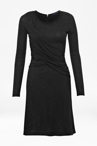 Twist Metal Jersey Dress