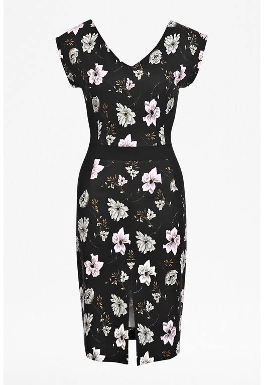 Bloomsbury Floral Jersey Dress