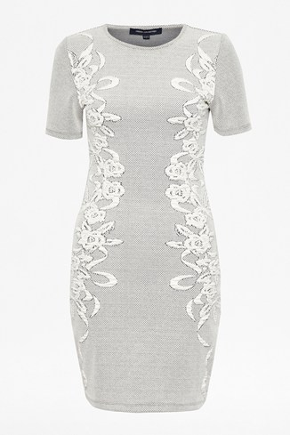 Jocelyn Jacquard Dress