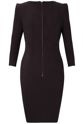 Jersey Stretch Dress Black