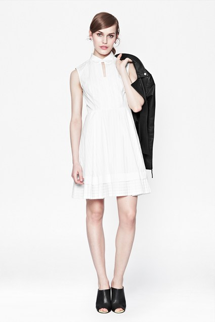 Pixel Cotton Shirt Dress