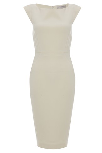 Classic Ruth Stretch Cap Sleeve Dress