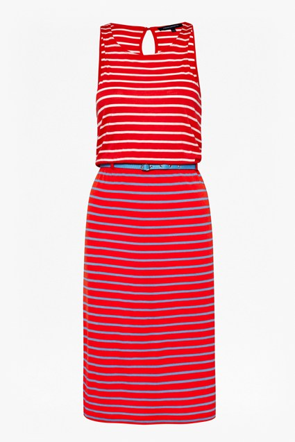 Elliot Stripe Midi Dress