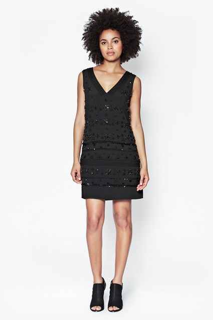 Milena Jewel Embellished Dress
