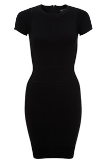 Dani Crepe Cap Sleeve Dress