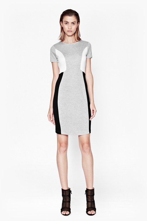 manhattan panel dress