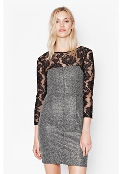 Golden Mist Lace Dress