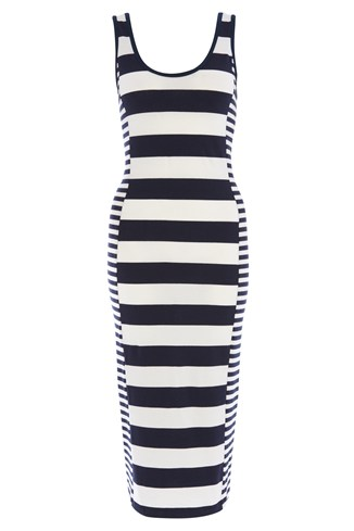 Fun Striped Maxi Dress