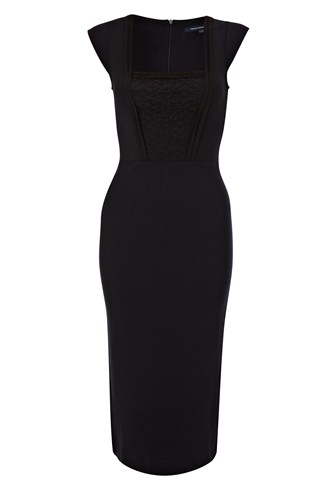 Valencia Lace Jersey Dress