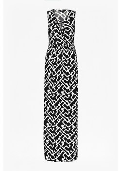 Downtown Grid Maxi Dress