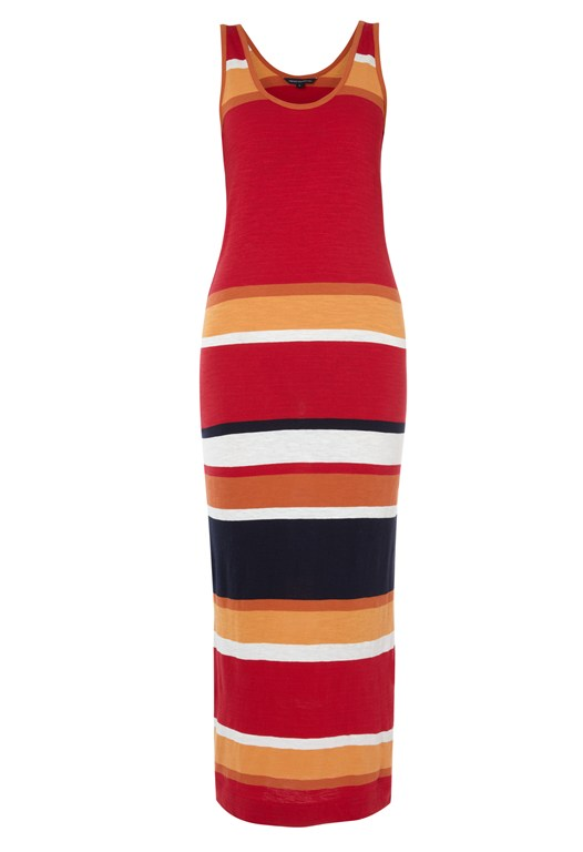 Sundance Striped Maxi Dress