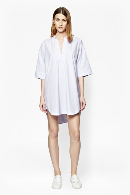 Albie Print Shirt Dress
