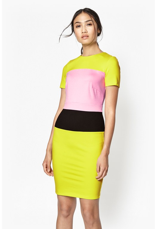 Lula Colour Block Dress