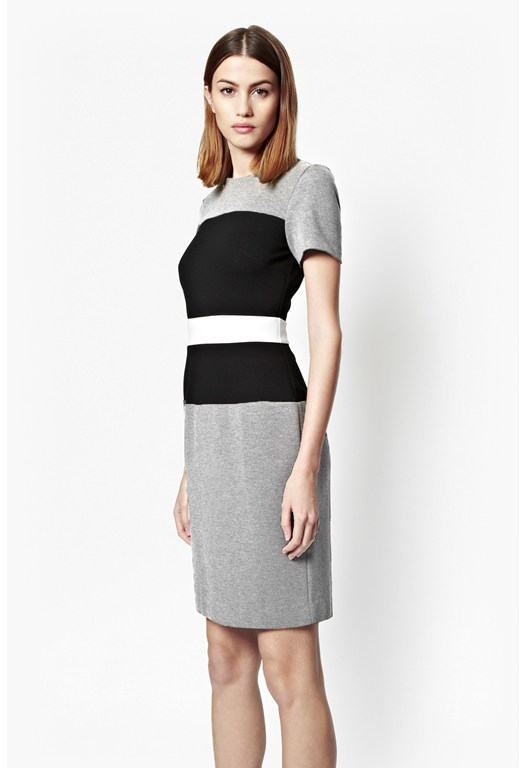Lula Colour Block Stretch Dress