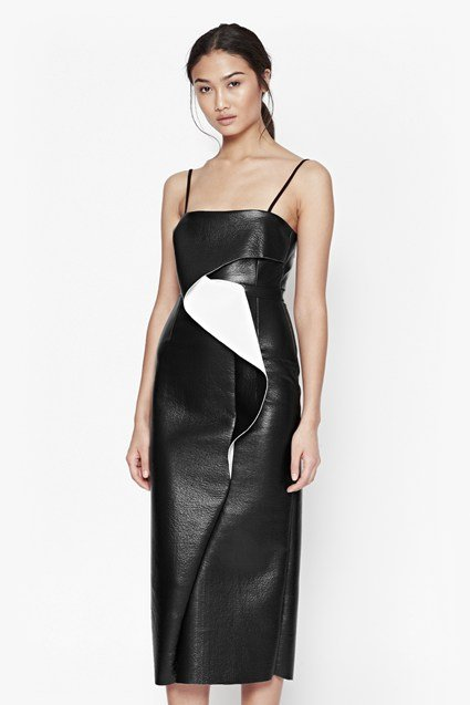 Slick Vic Flute Detail Dress