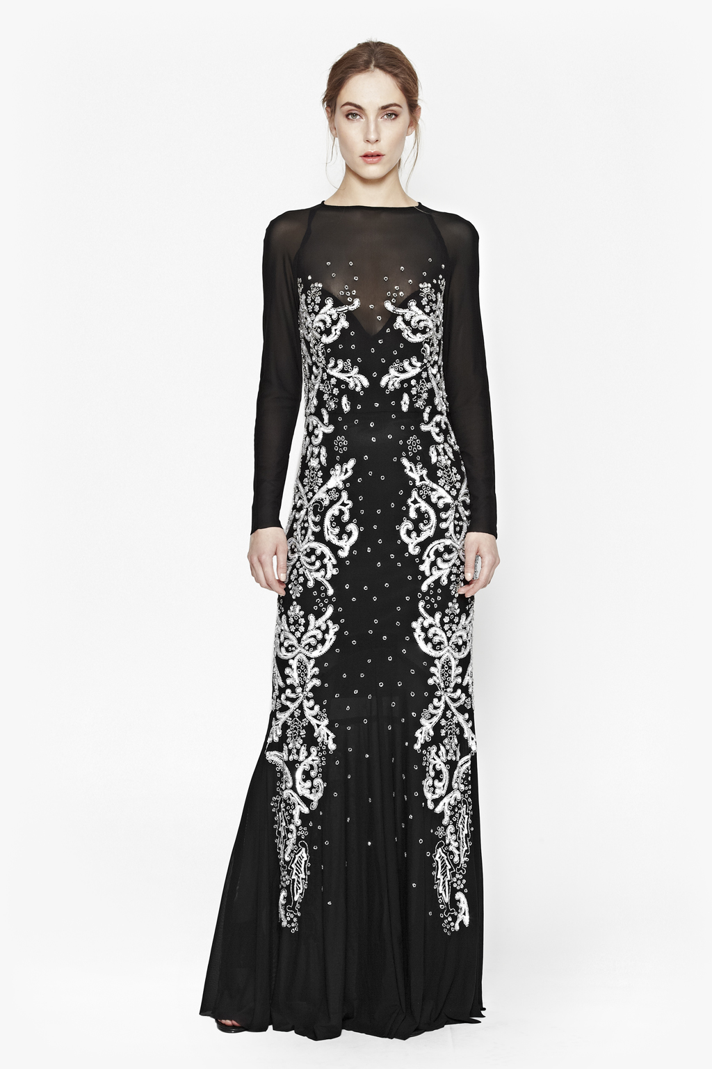 Maxi sequin dress recommend dress for autumn in 2019