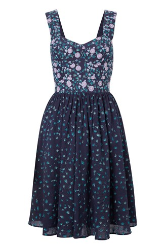 Elizabeth Embroidered Dress