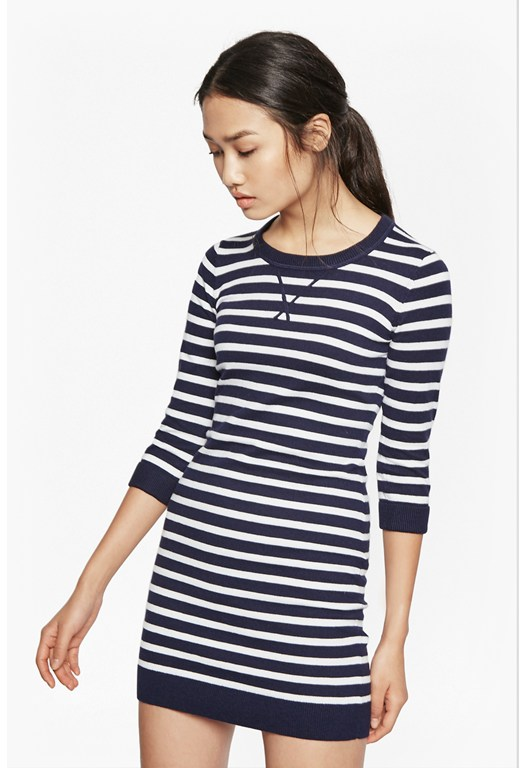 Bambino Stripe Jumper Dress