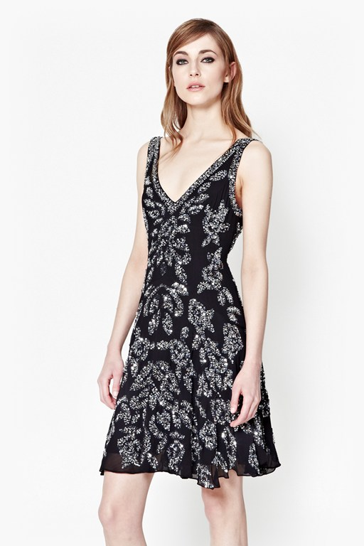 angelica jewel sequin dress