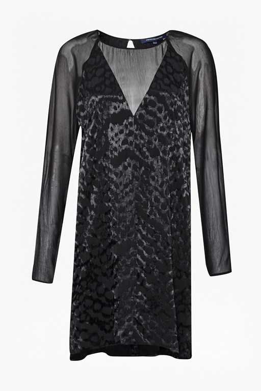 Complete the Look Aria Jacquard Tunic Dress