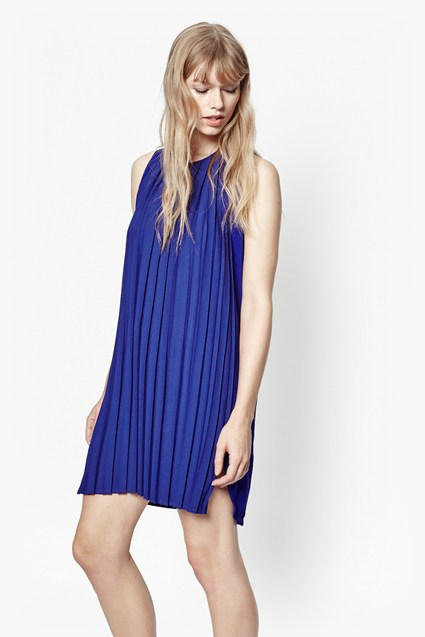 Pleated Polly Dress