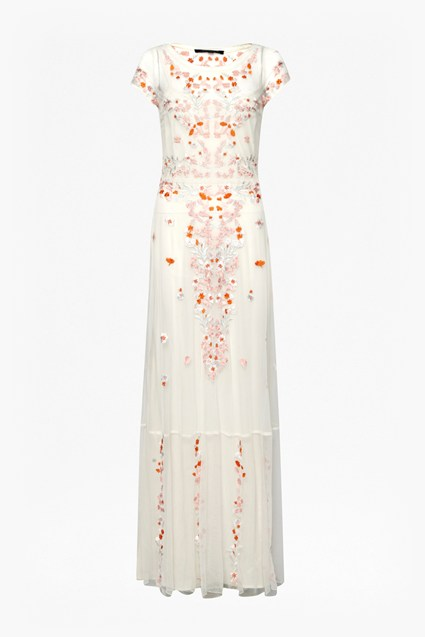 Seychelles Embroidered Maxi Dress
