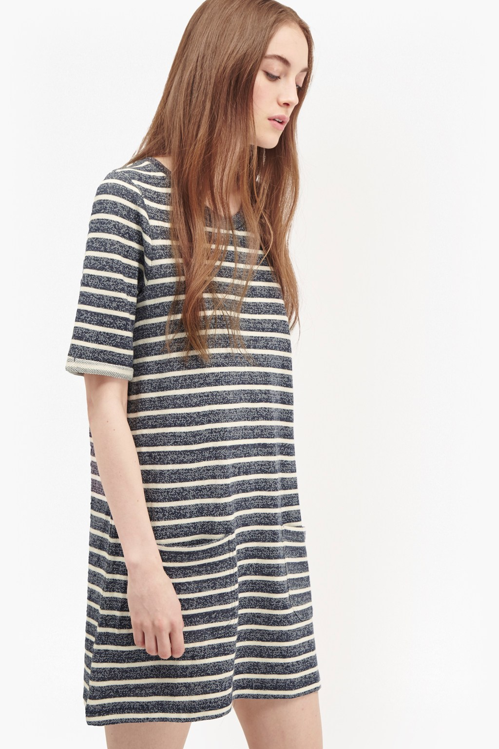 Normandy stripe t shirt dress collections french for French connection t shirt dress