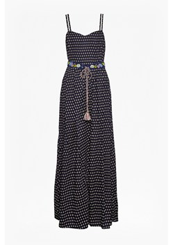 Bacongo Daisy Belted Maxi Dress