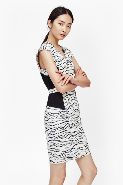 Tapir Wave Light Pencil Dress
