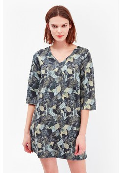 Lala Palm Ottoman Tunic Dress