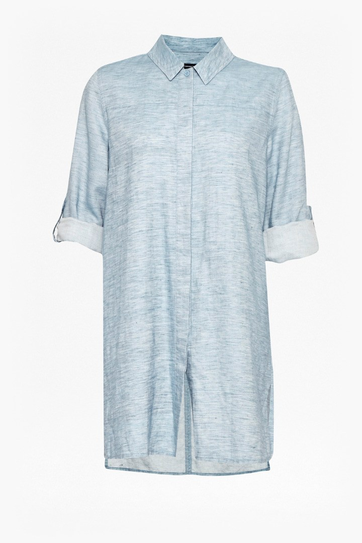 a2f2e081b87 Chambray Shirt Dress | Collections | French Connection