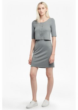 Manhattan Layered Jersey Dress