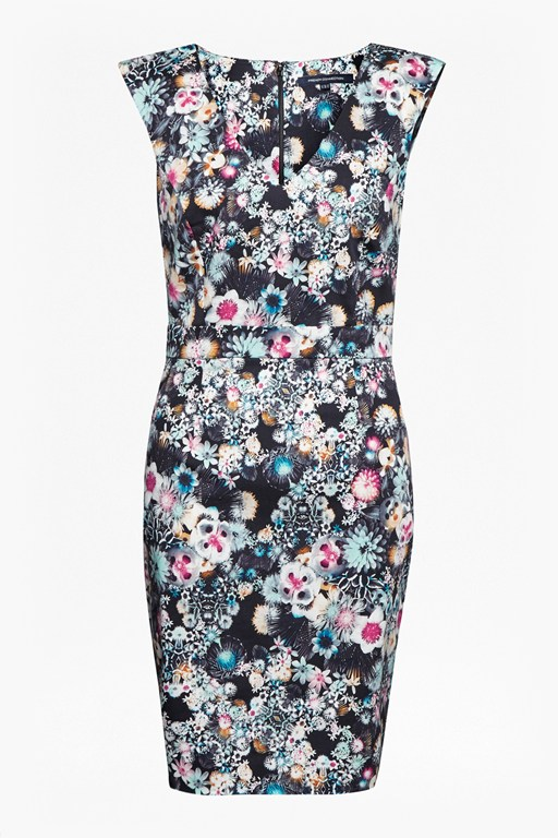 Complete the Look  Isola Bloom Floral Print Dress