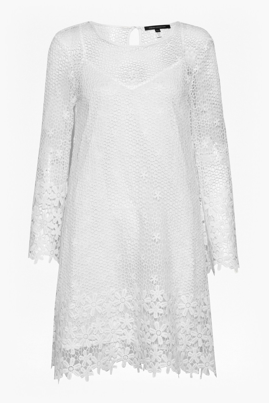766f406515c3 Posy Lace Bell Sleeve Dress   Collections   French Connection