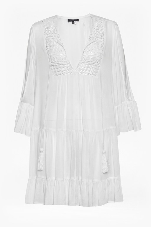 Complete the Look Castaway Lace Gypsy Tunic Dress