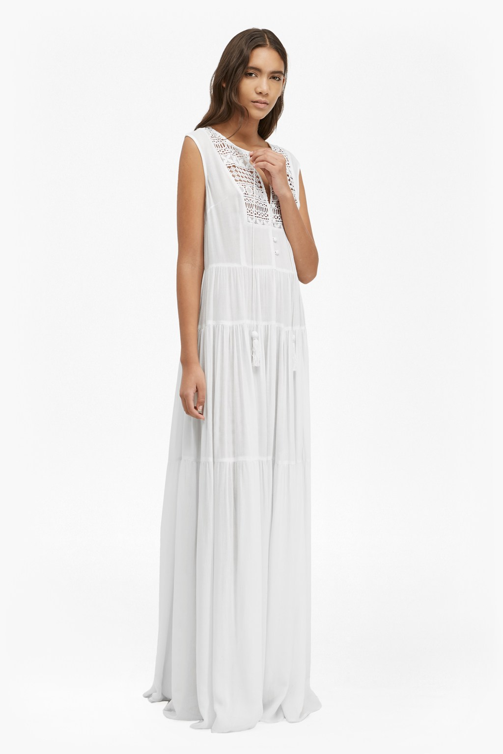 Castaway Lace Maxi Dress | Collections | French Connection