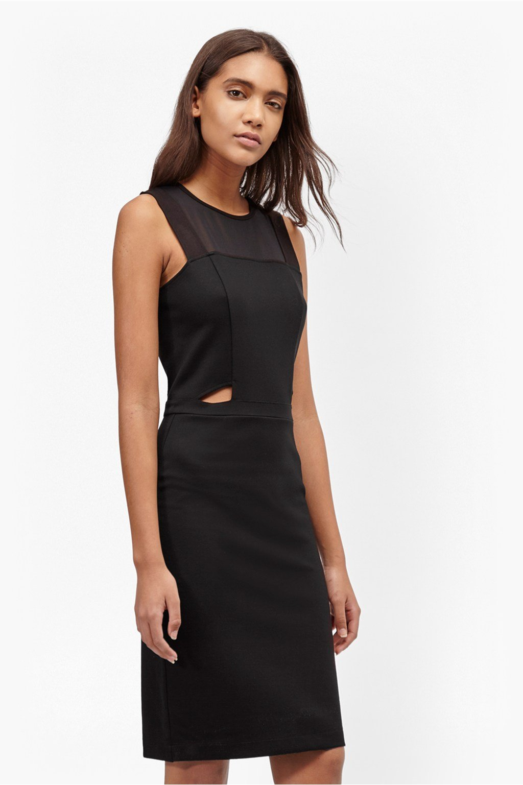Fitted cut out dress