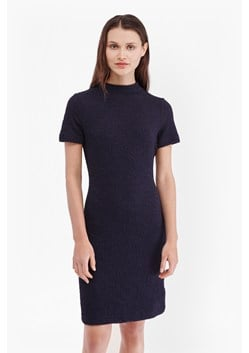 Ripple Jersey Textured Bodycon Dress