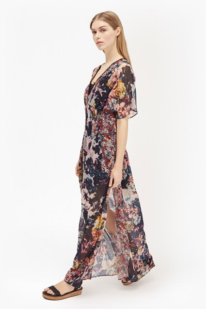 Evelyn Rose Chiffon Maxi Dress