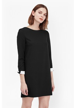 Tiffany Crepe Long Sleeve Dress