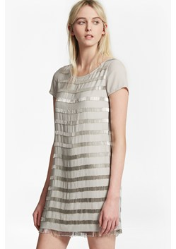 Della Fringe Embellished Tunic Dress
