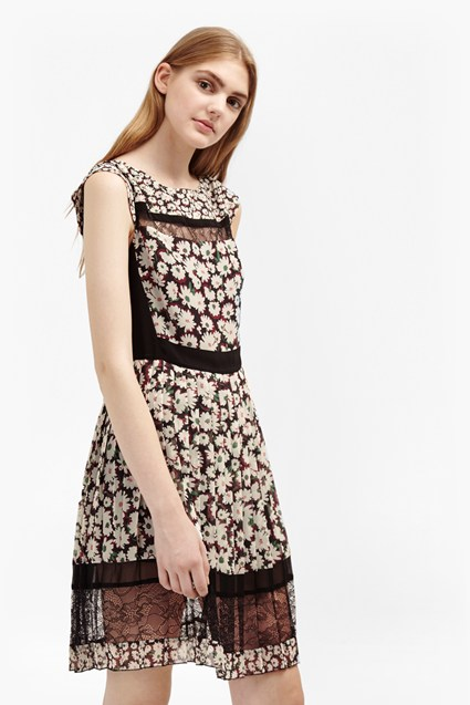 Bloomsbury Daisy Pleated Dress