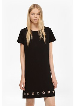 Sundae Suiting Eyelet Tunic Dress