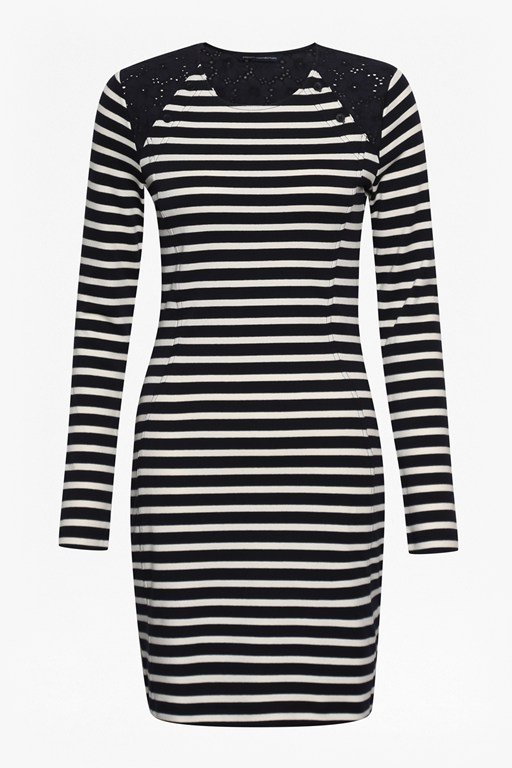 annie stripe tunic dress