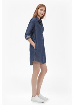 Denim Western Shirt Dress