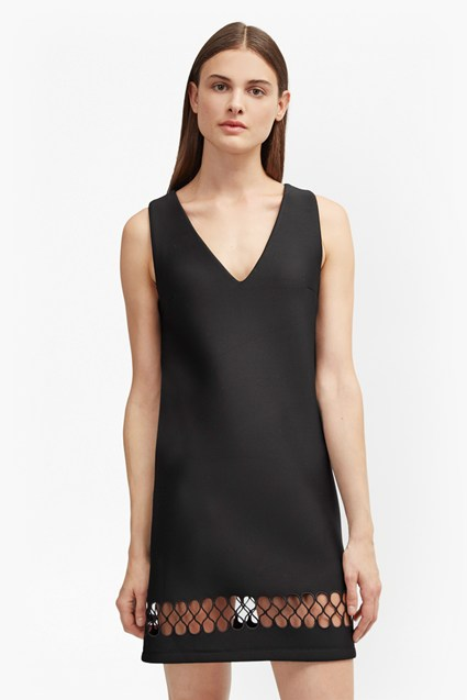 Clara Eight Hem Detail Dress