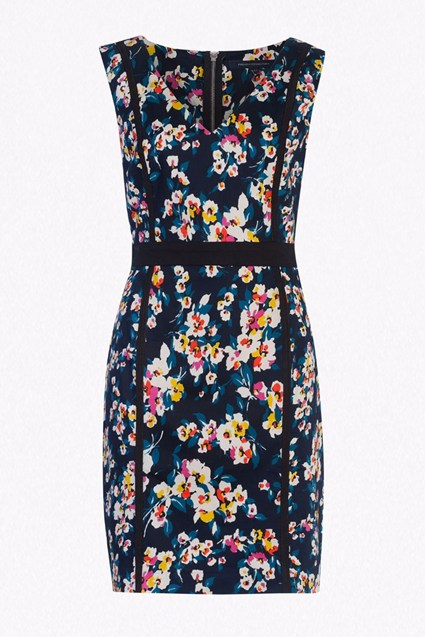 River Daisy Printed Pencil Dress