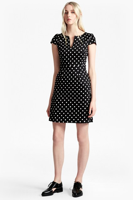 Dotty Spot Cotton Dress