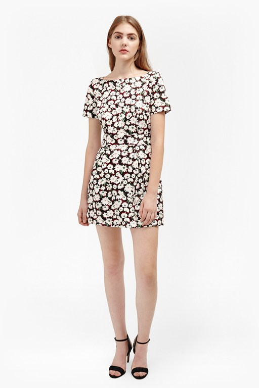bloomsbury daisy cotton dress