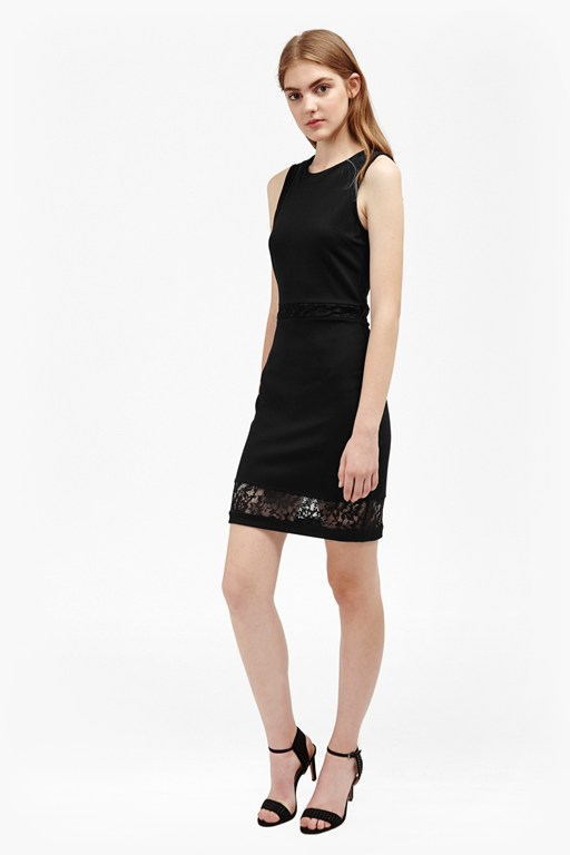 beau viscose lace dress